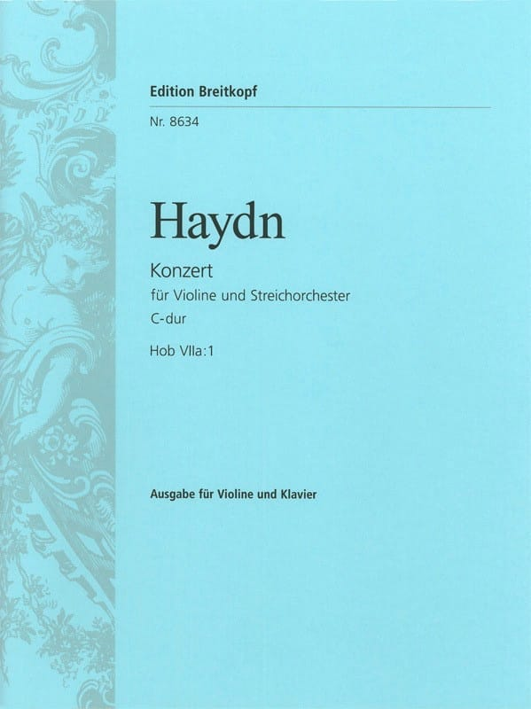 HAYDN - Violinkonzert C-Dur Hob. 7a: 1 - Partition - di-arezzo.co.uk