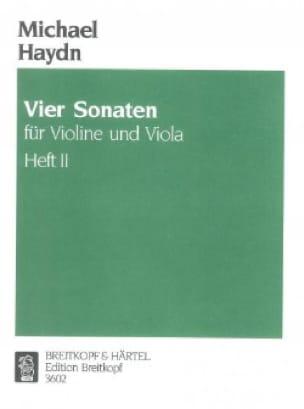 4 Sonaten für Violine und Viola - Heft 2 - laflutedepan.com