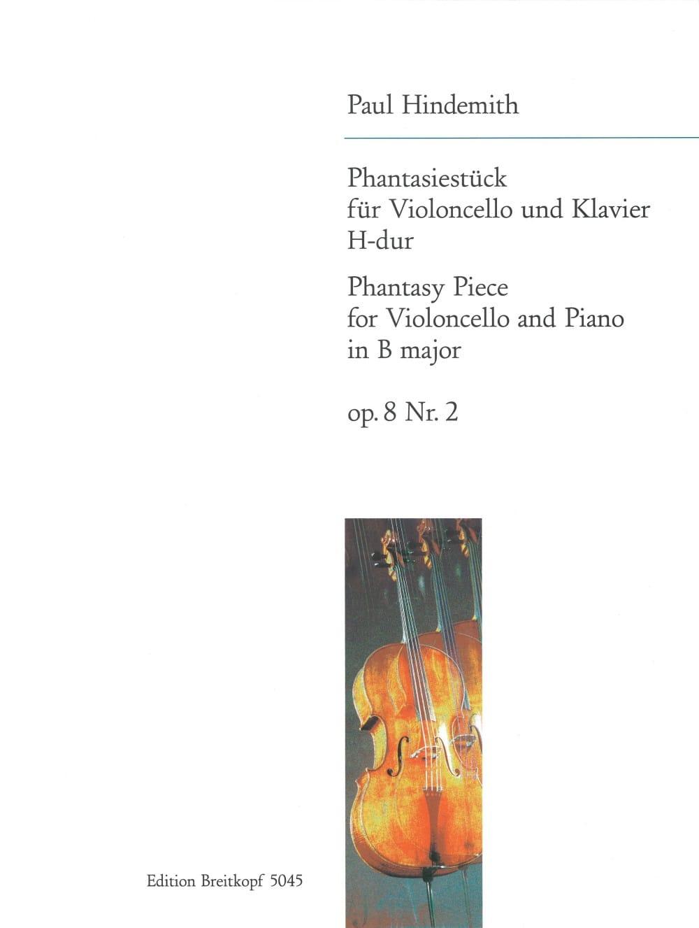 Phantasiestück H-Dur, op. 8 n° 2 - HINDEMITH - laflutedepan.com