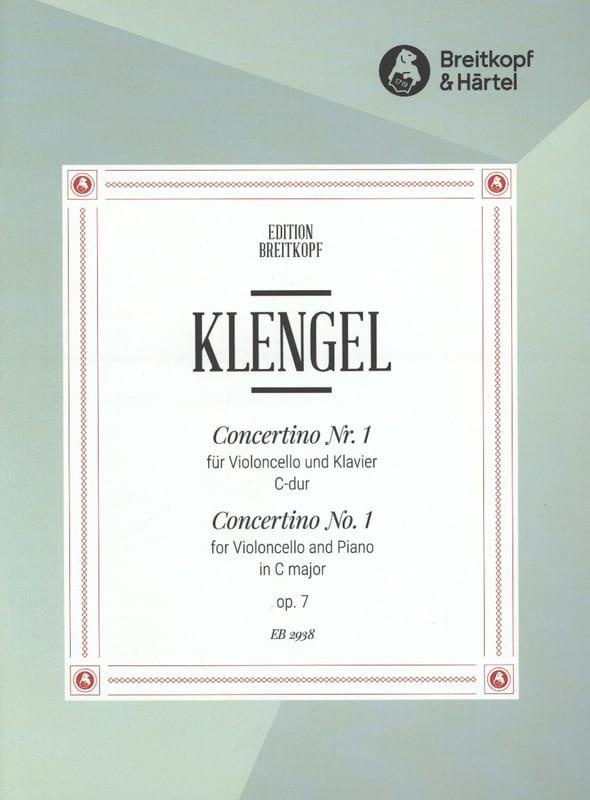 Concertino n° 1 C-Dur op. 7 - Julius Klengel - laflutedepan.com
