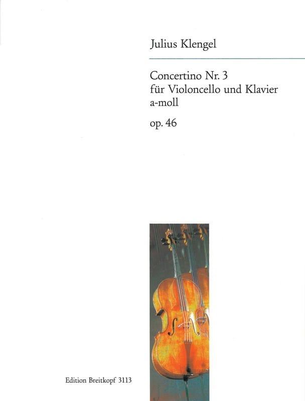 Concertino n° 3 a-moll op. 46 - Julius Klengel - laflutedepan.com