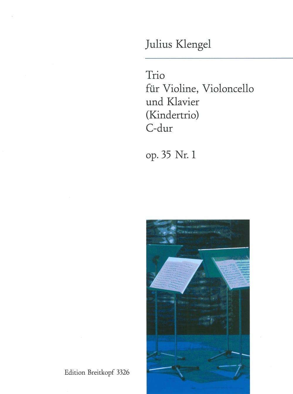 Kindertrio C-Dur op. 35 n° 1 - Julius Klengel - laflutedepan.com
