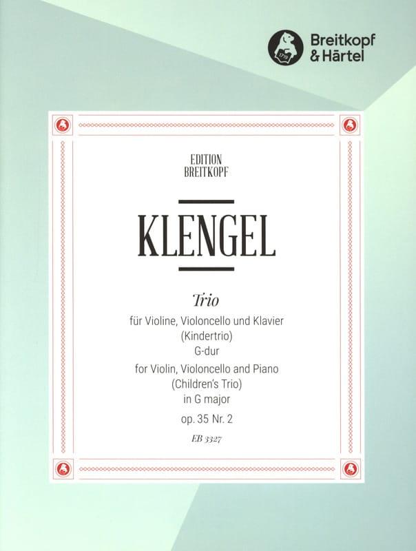 Kindertrio G-Dur op. 35 n° 2 - Julius Klengel - laflutedepan.com