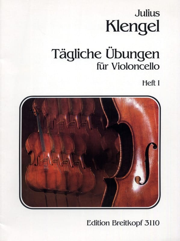 Tägliche Übungen - Heft 1 - Julius Klengel - laflutedepan.com