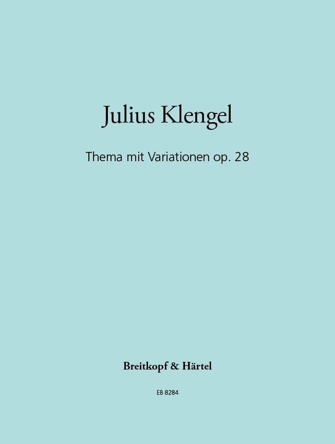 Thema mit Variationen op. 28 - Julius Klengel - laflutedepan.com