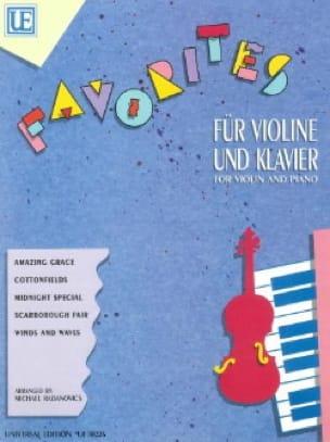Favorites - Michael Radanovics - Partition - Violon - laflutedepan.com