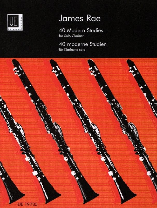 James Rae - 40 Modern Studies - Clarinet Solo - Partition - di-arezzo.co.uk