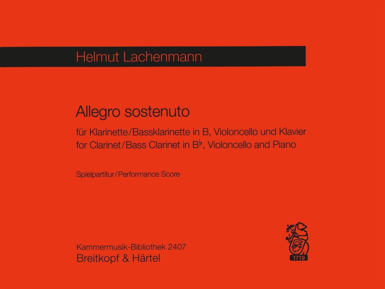 Allegro Sostenuto -Spielpartitur - laflutedepan.com
