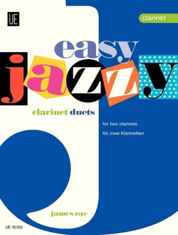James Rae - Easy Jazzy Duets - 2 Clarinets - Partition - di-arezzo.fr