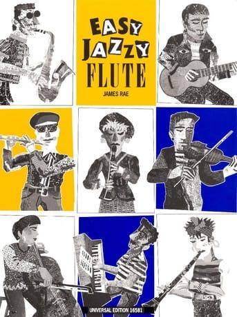 Easy Jazzy Flute - Flute Piano - James Rae - laflutedepan.com
