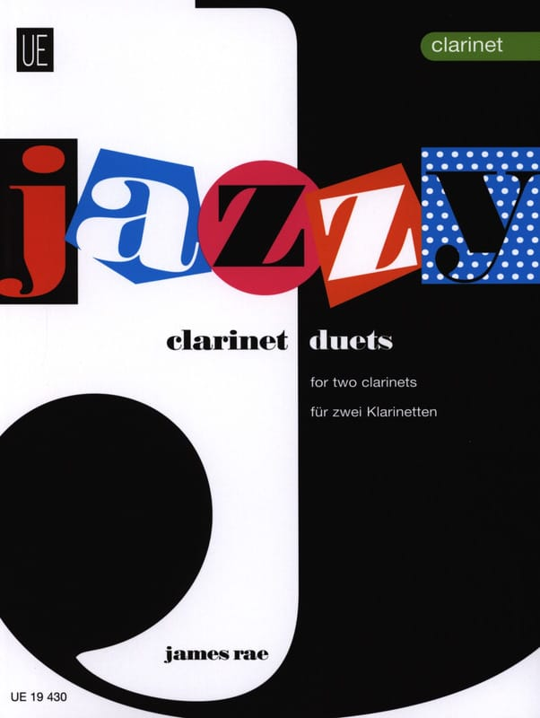 James Rae - Dúos Jazzy - 2 Clarinetes - Partition - di-arezzo.es