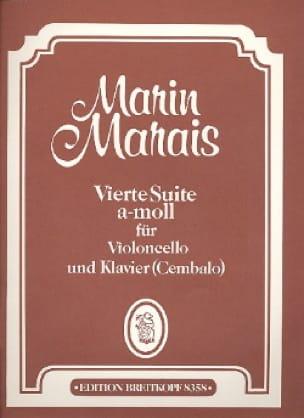 Vierte Suite a-moll - Cello - Marin Marais - laflutedepan.com