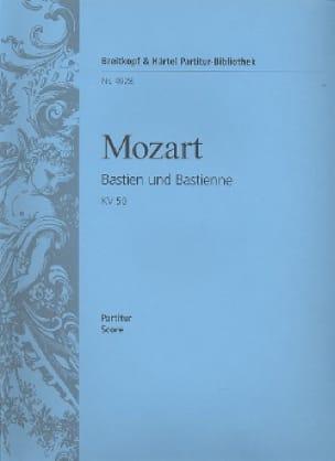 Bastien und Bastienne KV 50 46b - Partitur - MOZART - laflutedepan.com