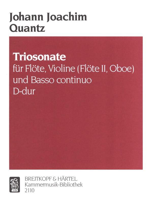 Triosonate D-dur -Flöte, Violine Flöte, Oboe u. Bc - laflutedepan.com