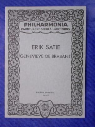 Geneviève de Brabant - Partitur - Erik Satie - laflutedepan.com