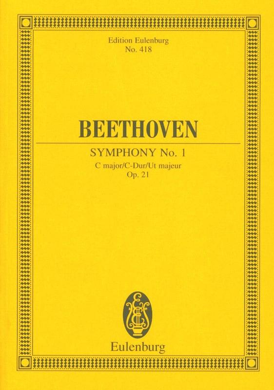 Symphonie Nr. 1 C-Dur - BEETHOVEN - Partition - laflutedepan.com