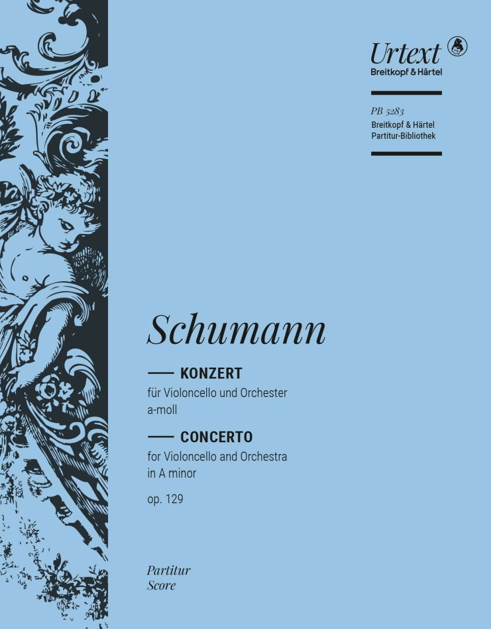 SCHUMANN - Violoncellokonzert a-moll op. 129 - Partitur - Partition - di-arezzo.com
