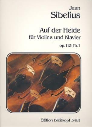 Jean Sibelius - Auf der Heide op. 115 n ° 1 - Partition - di-arezzo.es