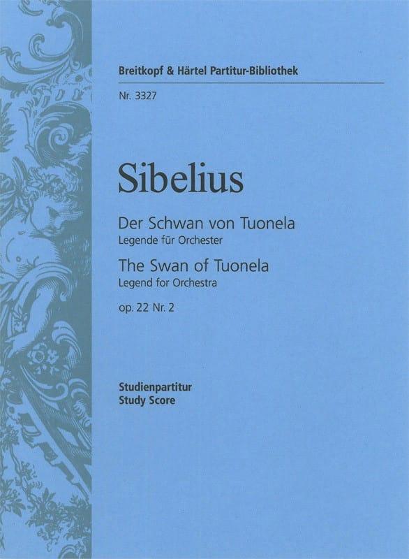 Jean Sibelius - Der Schwan von Tuonela Op.22 N ° 2 - Partition - di-arezzo.co.uk