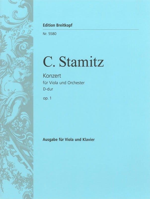 Carl Stamitz - Alto Concerto, D mayor op. 1 - Partition - di-arezzo.es