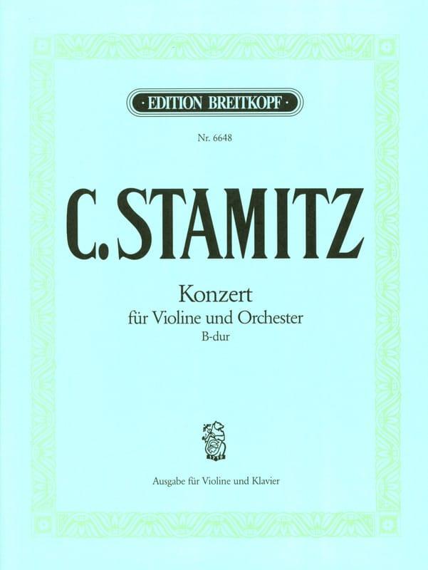 Konzert B-dur - Violine - STAMITZ - Partition - laflutedepan.com