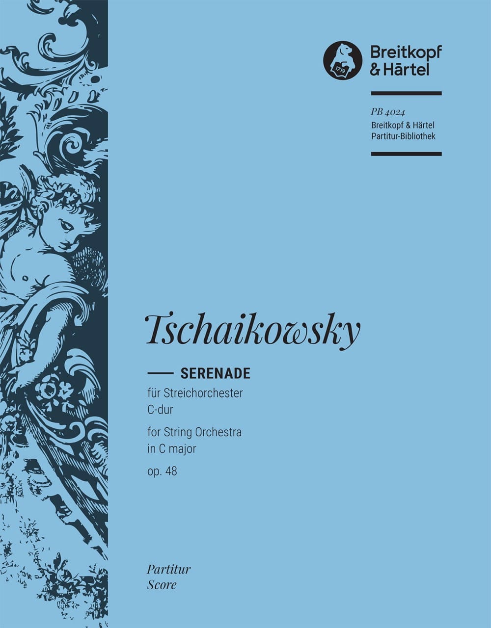 TCHAIKOVSKY - Serenade C-Dur op. 48 - Partitur - Partition - di-arezzo.co.uk