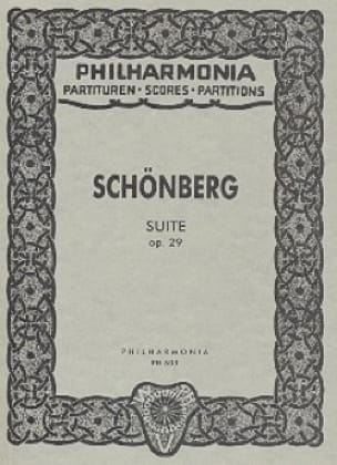 Arnold Schoenberg - Suite op. 29 - Partitur Taschen - Partition - di-arezzo.co.uk