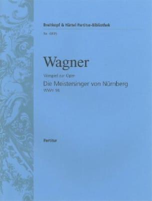 Les Maîtres Chanteurs, Prélude - Conducteur - laflutedepan.com