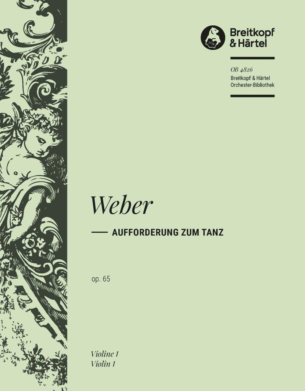 Aufforderung zum Tanz - Carl M von Weber - laflutedepan.com