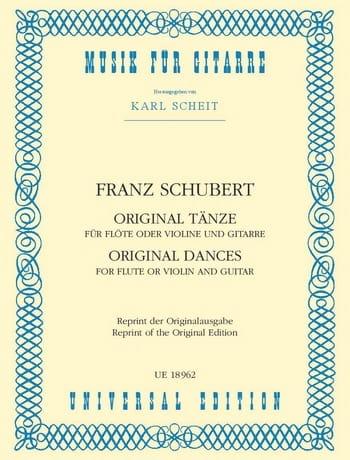 Original Tänze - Flöte o. Violine u. Gitarre - laflutedepan.com