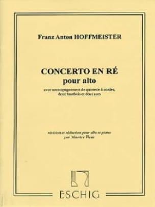 Concerto pour Alto - HOFFMEISTER - Partition - Alto - laflutedepan.com