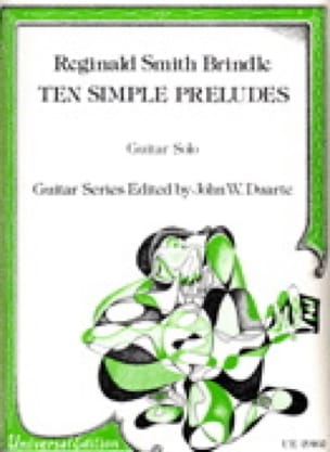 10 Simple preludes - Brindle Reginald Smith - laflutedepan.com