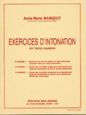 Anne-Marie Mangeot - Intonation Exercises - Book 1 - Partition - di-arezzo.com