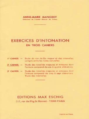 Anne-Marie Mangeot - Intonation Exercises - Booklet 2 - Partition - di-arezzo.com