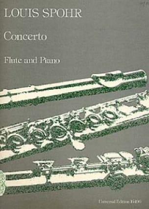 Concerto op. 47 - Flûte piano - SPOHR - Partition - laflutedepan.com