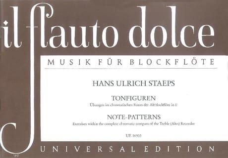 Tonfiguren - Hans Ulrich Staeps - Partition - laflutedepan.com