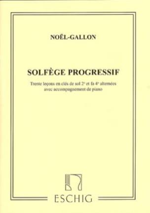 Noël Gallon - Progressive Music in 2 Keys with Piano - Partition - di-arezzo.com