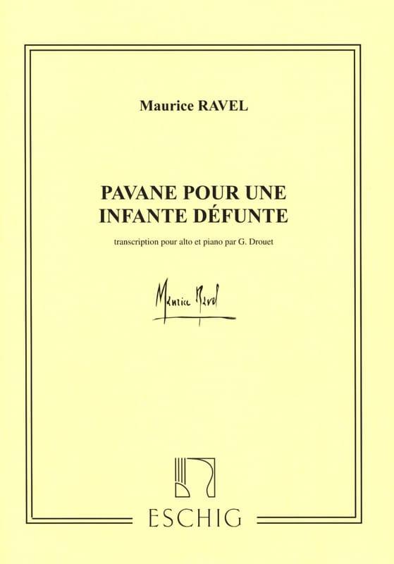 Pavane pour une infante défunte - Hautbois et piano - laflutedepan.com