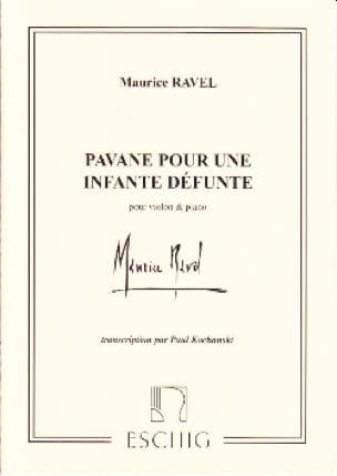 Maurice Ravel - Pavane por un infante muerto - Partition - di-arezzo.es