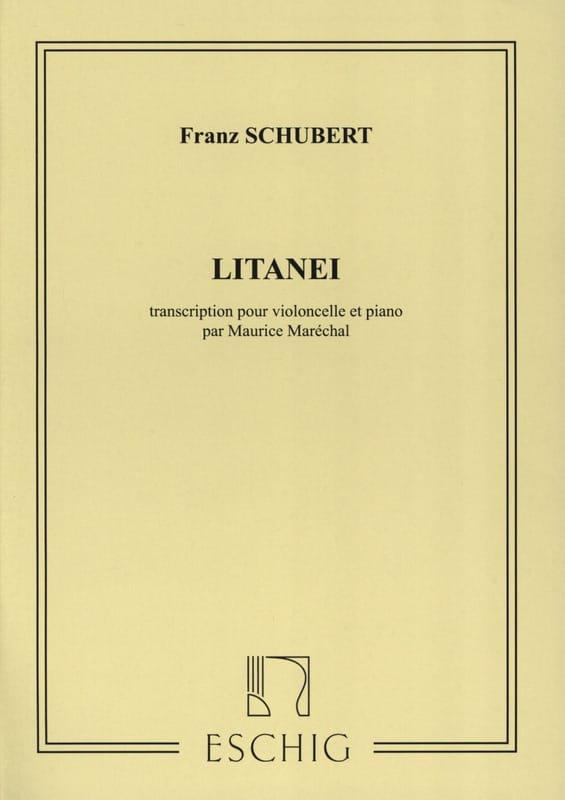 SCHUBERT - Litanei - Partition - di-arezzo.es