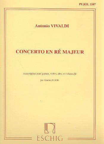 VIVALDI - Concierto en Re mayor - String Guitar and Trio - Partition - di-arezzo.es