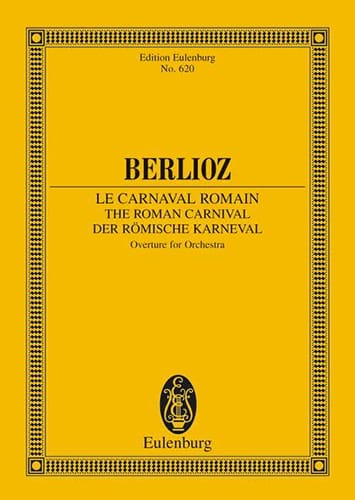 BERLIOZ - The Roman Carnival, Opening - Partition - di-arezzo.co.uk