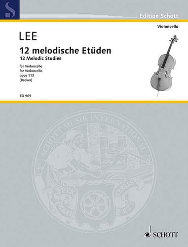 Sebastian Lee - 12 Melodische Etüden op. 113 - Partition - di-arezzo.co.uk