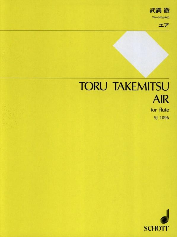 Air - Flute solo - TAKEMITSU - Partition - laflutedepan.com