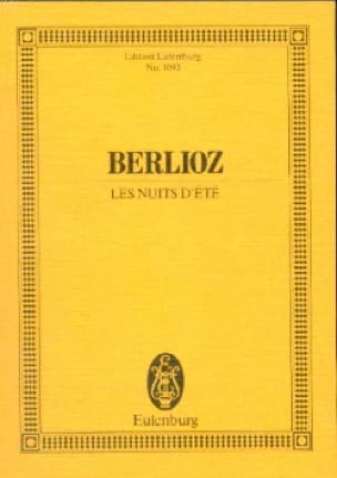 BERLIOZ - Summer Nights - Driver - Partition - di-arezzo.com