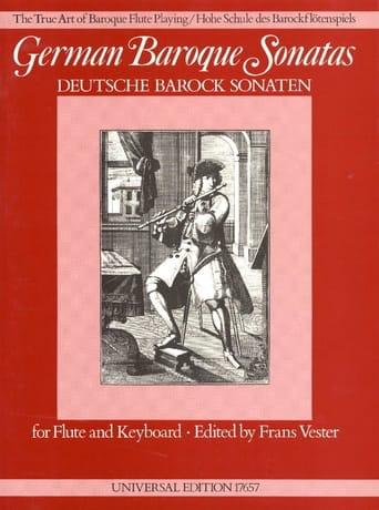 German Baroque Sonatas - Flûte et Piano - laflutedepan.com