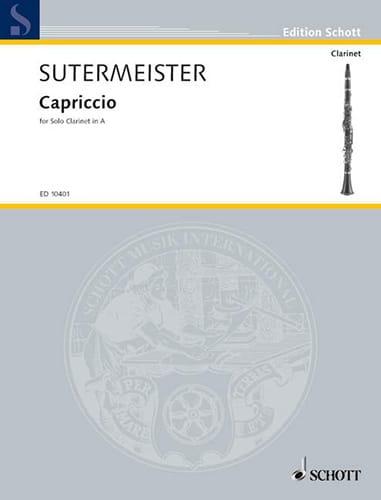 Capriccio - Heinrich Sutermeister - Partition - laflutedepan.com
