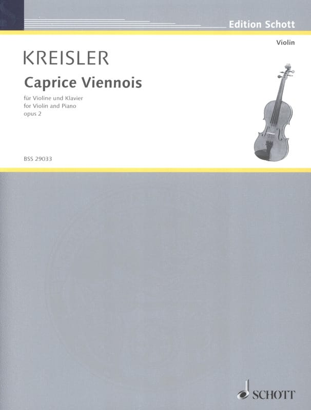 Fritz Kreisler - Viennese Caprice op. 2 - Partition - di-arezzo.co.uk