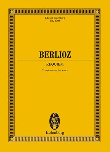 BERLIOZ - Requiem Great Mass of the Dead - Partition - di-arezzo.co.uk