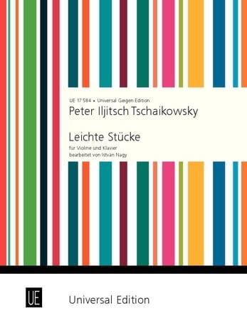 Pièces Faciles - TCHAIKOVSKY - Partition - Violon - laflutedepan.com